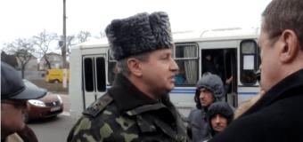 Видео с блок-поста добровольцев «Варваровский»: Интервью полковника в Николаеве