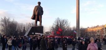Драка в Донецке, как результат двух митингов одновременно