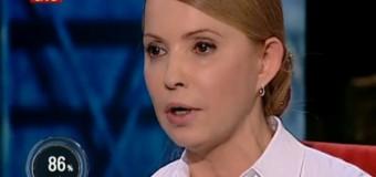Шустер Live: Тимошенко назвала ВР гадючником и пообещала вернуть Крым. Видео