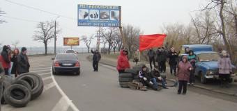 Николаев. Блок-пост «Варваровский» добровольцев Антимайдана
