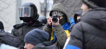 Колоритные фотографы с Майдана. Фото