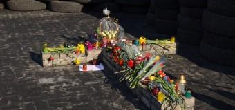 Прогулка по Киеву: баррикады на Грушевского и память о «Небесной сотне». Фото