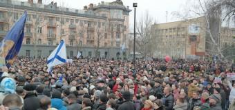 Видео с митинга в Николаеве 1 марта