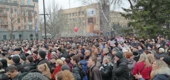 Митинг в Николаеве: «Пророссийские сепаратисты» против «ультраправых во власти»