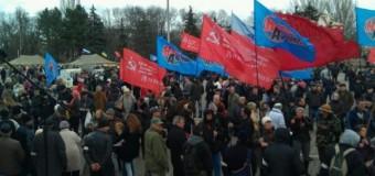 В Одессе провозглашена Народная Республика Новороссия. Видео