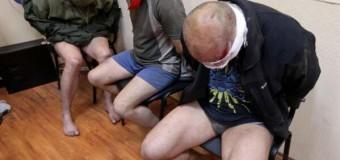 В Горловке Донецкой области ополченцы задержали трех спецназовцев СБУ «Альфа». Видео