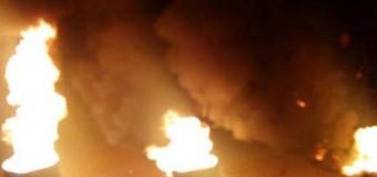 Ночное нападение на блокпост возле Володарки. Донецк. Видео