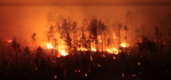 Взрыв боеприпасов в Забайкалье. Видео очевидца