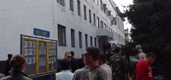 В Красноармейске захвачен горотдел милиции. Видео