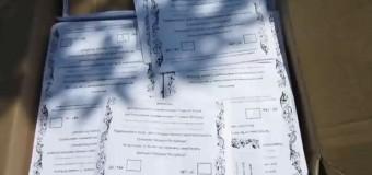 Задержаны террористы, перевозившие «проголосовавшие» бюллетени для Славянска. Видео