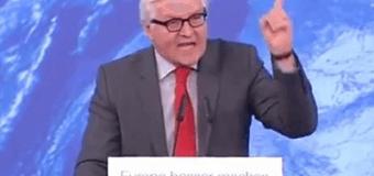 Разъяренная речь главы МИД Германии об Украине набрала более миллиона просмотров. Видео