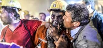 Страшные последствия  взрыва на шахте в Турции. Видео