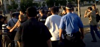 В Харькове неизвестным не удалось захватить активиста «Боротьбы». Видео