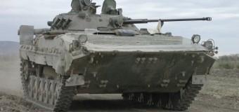 Два украинских БМП пересекли границу с Россией. Видео