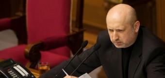 Турчинов огласил последние результаты АТО. Видео
