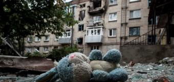 Славянск сегодня превратился в зону отчуждения. Фото