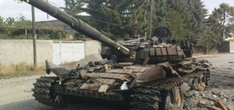 «Российский» танк, подбитый в Снежном, оказался фейком. Видео