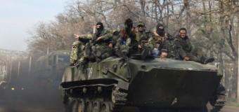 Боевики ДНР под песню Высоцкого уничтожили блокпост между Славянском и Краматорском. Видео