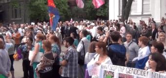 Харьковские активисты попросили прощения у России. Видео