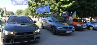 Столичный Автомайдан «захватил» Запорожье. Видео