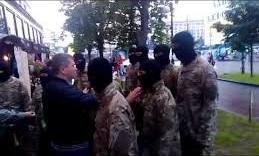 На Майдане напали на командира «Азова». Видео