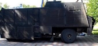 «Чудо техники» батальона Азов. Видео