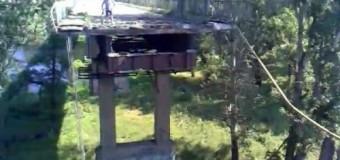 Взорван мост между городами Лисичанском и Северодонецком. Видео