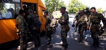 Украинские военные наводят порядок в Славянске и Краматорске. Фото