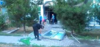 В Одессе взорвали два отделения ПриватБанка. Фото