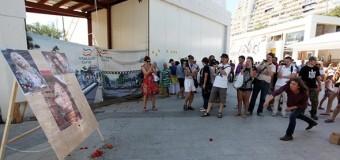 В Одессе портреты Лорак, Повалий, Потапа и Насти закидали книлью. Видео