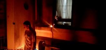В Николаеве ночью подожгли военкомат. Фото