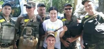 Бывшая «лицо» России на Евровидении поет в поддержку АТО на Донбассе. Фото