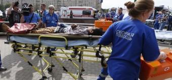 В результате крушения поезда в московском метро — десять погибших. Видео