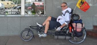 В России известного американского велосипедиста насмерть сбил пьяный водитель. Видео