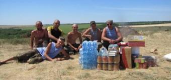 Волонтеры из Николаева отвезли «гуманитарку» в зону АТО. Видео, фото.
