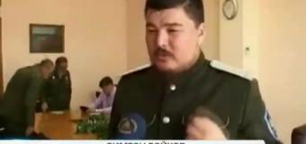 Австралийский казак в степях Украины: на Востоке, с ополченцами. Видео