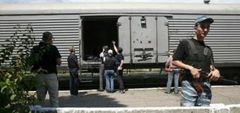 Из Тореза пытаюся вывезти тела 192 жертв катастрофы «Боинг-777». Фото