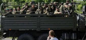 Боевики перебрались в Донецк. Видео