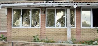 Разрушенные здания на подступах к Луганску. Фото
