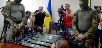 В Днепропетровске планировался теракт: опасное оружие извлечено. Фото