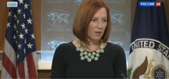 Джен Псаки: Военная операция на Донбассе идет не по киевскому сценарию. Видео
