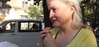 Беженцы из Шахтерска: Растерянные, обездоленные, шокированные происходящим. Видео