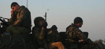 В зону боевых действий едет подкрепление. Фото