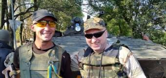 Аваков посетил зону АТО. Видео