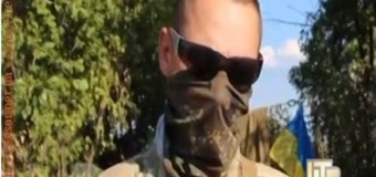 Под Луганском идет настоящий бой. Видео