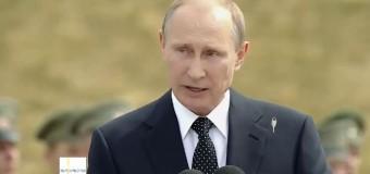 Путина пометила птичка в прямом эфире. Видео