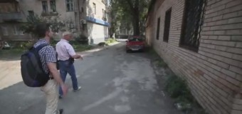 Где жил Игорь «Стрелок» в Славянске. Видео