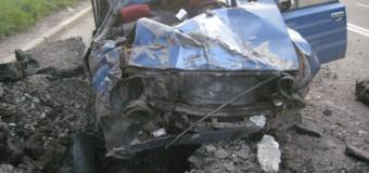 Донецкий водитель снял снаряд взорвавшийся в метре от его машины. Видео