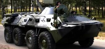 На границе Украины и России по ночам транслируются самолетные форсажи и гул тяжелой техники. Фото