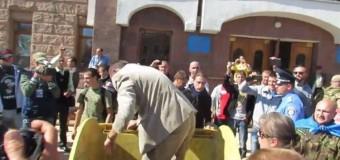 Эстафету в Deputat Bucket Challenge передали Кировограду. Видео